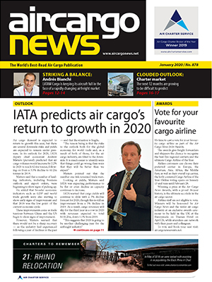 Air Cargo News Issue 878 - January 2020