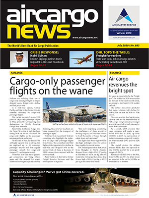 Air Cargo News Issue 883 - July 2020