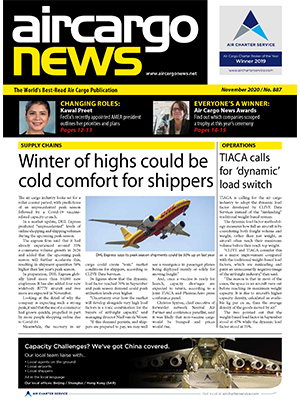 Air Cargo News Issue 887 - November 2020