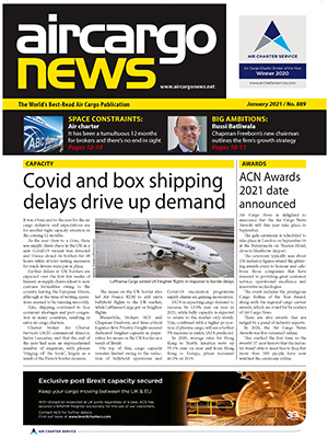 Air Cargo News Issue 889 - January 2021