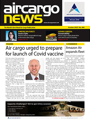Air Cargo News Issue 886 - October 2020