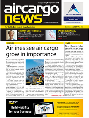 Air Cargo News Issue 885 - September 2020