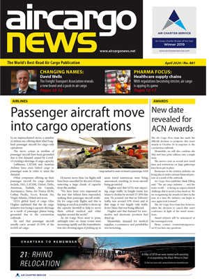 Air Cargo News Issue 881 - April 2020