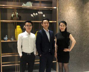 ACS Shanghai Office L to R – Sam Zhong, Amos Chan, Amanda Li