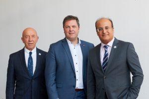 The A-Team: TIACA Board (L-R) Zubkov, Polmans, Gadhia