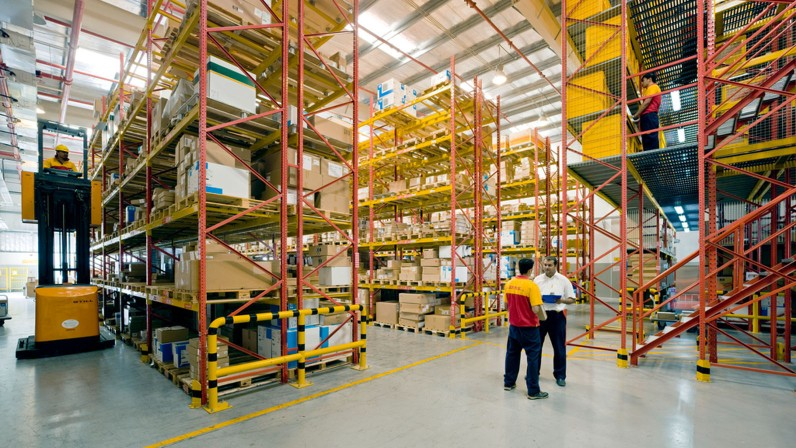 DHL introduces digital twin technology to Tetra Pak warehouse