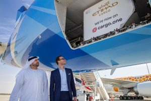 Etihad Cargo continues digital drive with cargo.one deal