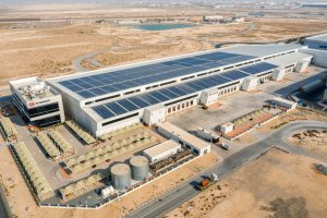 DB Schenker Dubai Logistics centre 2019. Copyright DB Schnker