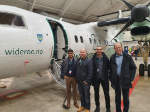 Regional carrier Widerøe to roll out e-cargoware