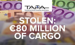 EMEA cargo crime on the up as losses hit the €80m mark