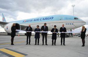 BUD welcomes twice a week Seoul B777 freighter