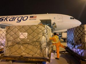 MASKargo transports medical goods in Malaysia's fight against Covid-19