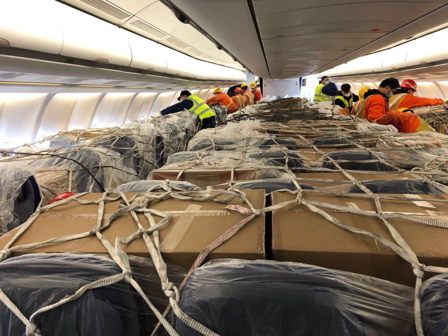 Image result for Airbus A330 converted Into a Cargo Plane- Lufthansa