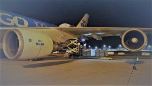 Bolloré Logistics utilises freighters for healthcare supply chains