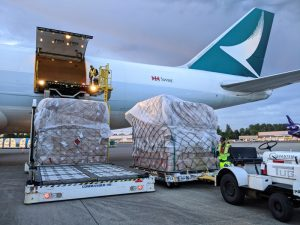 Cathay Pacific cargo capacity drops 25% as quarantine measures hit