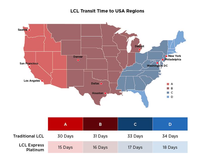 Expeditors Fast Ocean Transit