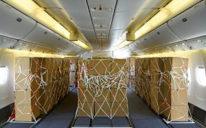 VIDEO: Emirates the latest to swap seats for cargo