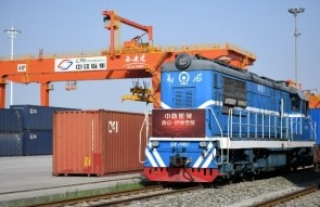 China rail services takeoff during air cargo capacity crunch