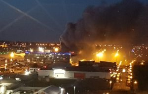 Fire breaks out at Liege Airport building
