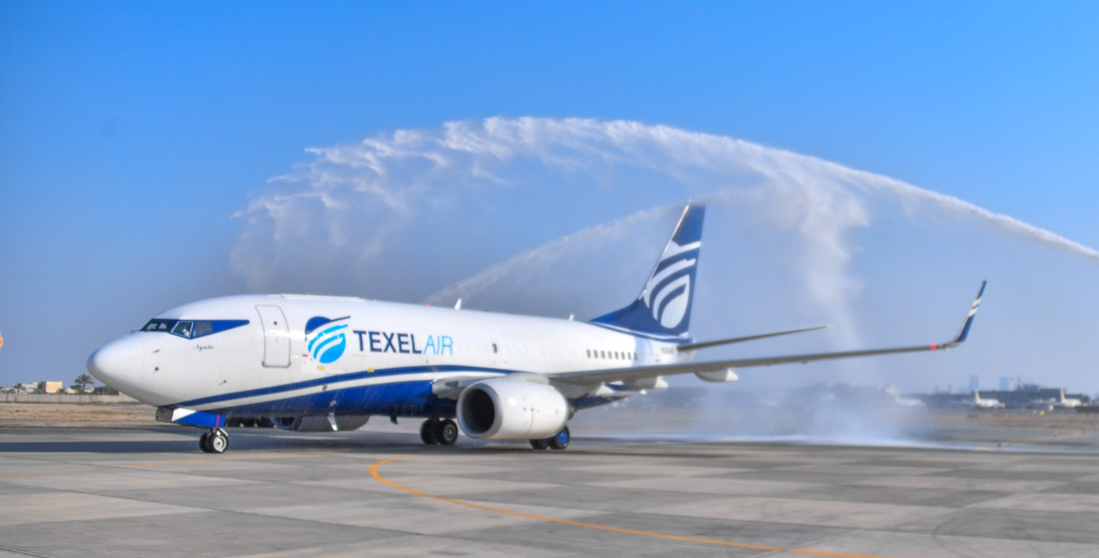 Texel Air welcomes the world's first B737-700 FlexCombi from Pemco