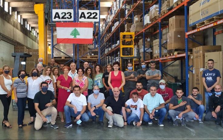 The Damco Beirut team