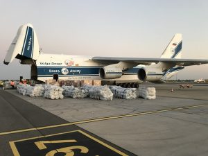Volga-Dnepr Airlines teams up on charter flight to Moria refugee camp