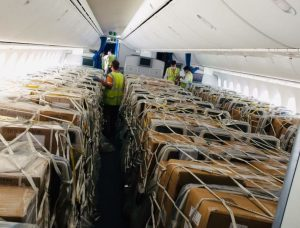 LOT and Group Concorde transport 53.5 tonnes of cargo on Dreamliner preighter