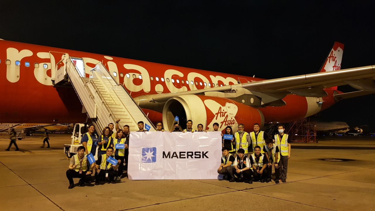 Maersk launches airfreight forwarding operations with charter flights - Air Cargo News
