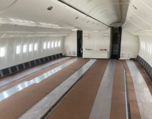Jamco's First B777-300ER preighter conversion enters into service