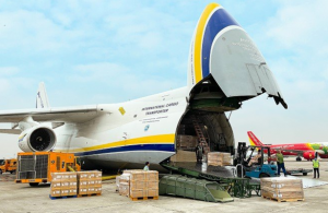 Antonov transports automotive parts as demand picks up