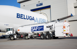 Airbus to use sustainable fuel for UK Beluga flights