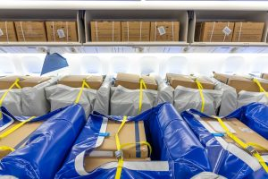 KLM deploys custom-made cargo seat bags
