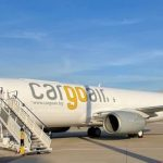 CargoAir's converted freighter takes to the air