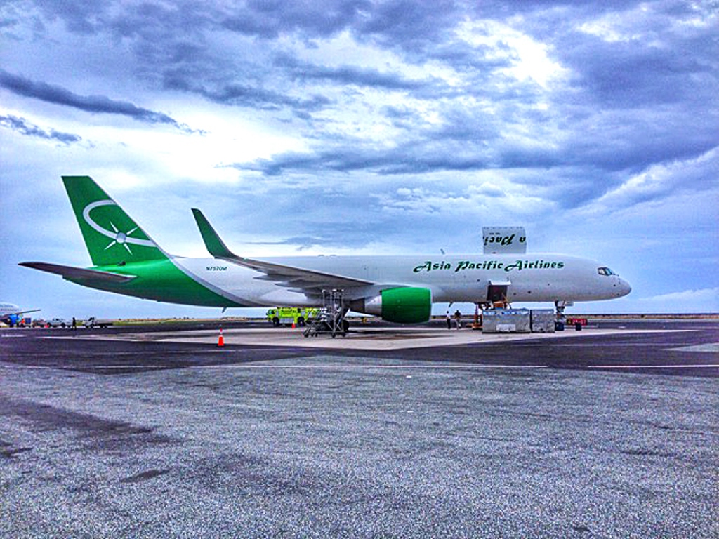 asia pacific airlines expands fleet with b757 converted freighter ǀ