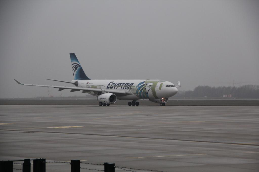 Egyptair Cargo Has Taken Delivery Of Its Second Passenger To Freighter Converted Airbus A330p2f The Middle East Carrier Ordered Three A330 200p2fs From