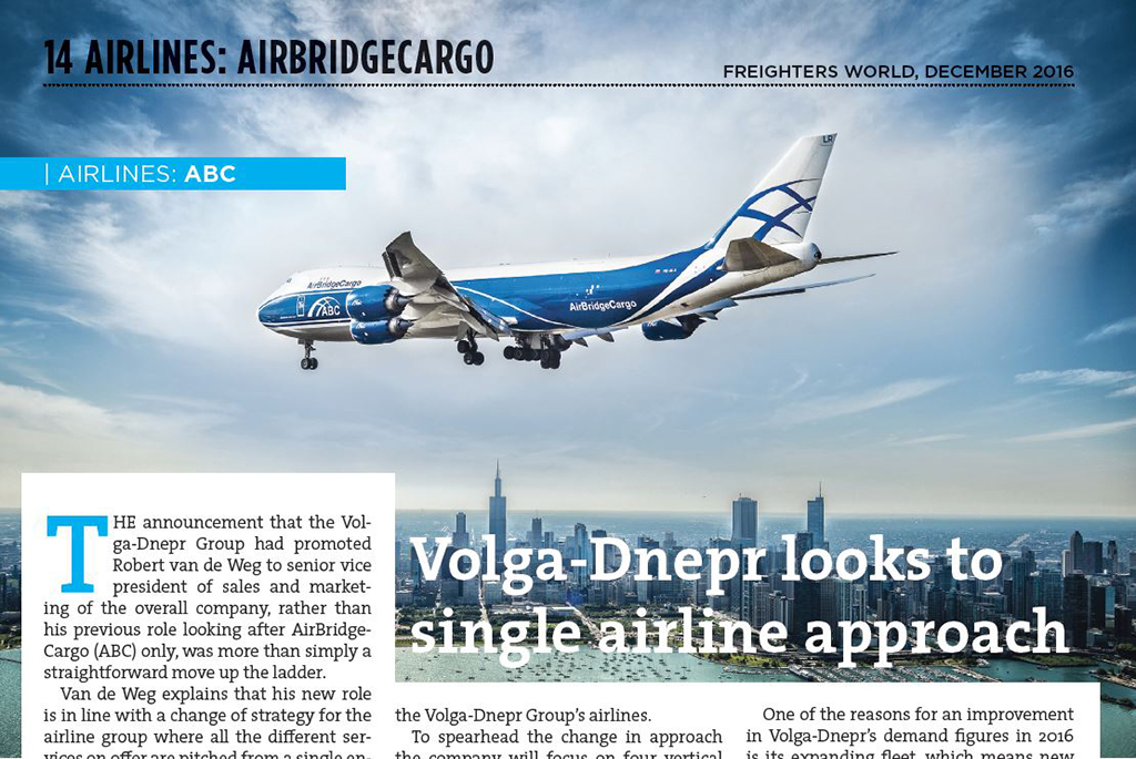 Freighters World: ABC and Volga-Dnepr, a single minded approach