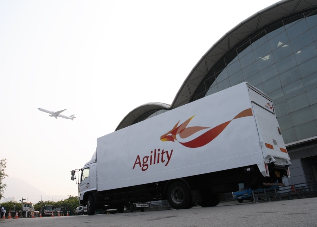 Airfreight helps drive profit improvement at Agility