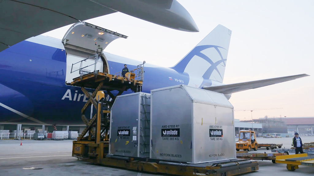 Big Bytes Airbridge And Unilode Extend Bluetooth Tracking For Ulds