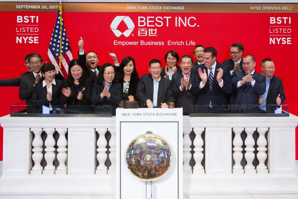 BEST Inc the latest Chinese logistics firm to raise funds