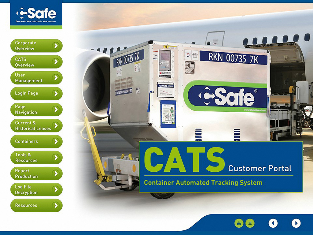 CSafe launches CATS container tracking system