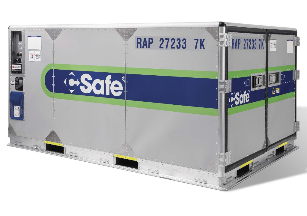 Lot Cargo Signs Up For Csafe S Pharma Containers