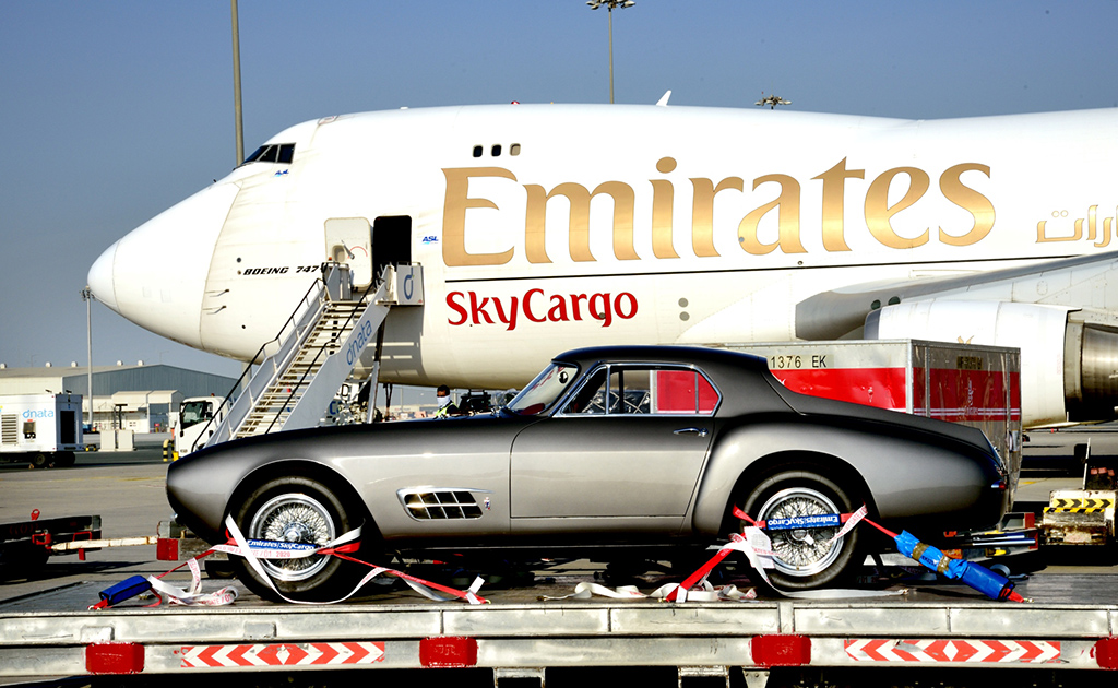 Top gear for Emirates classic car transport (Video) ǀ Air Cargo News