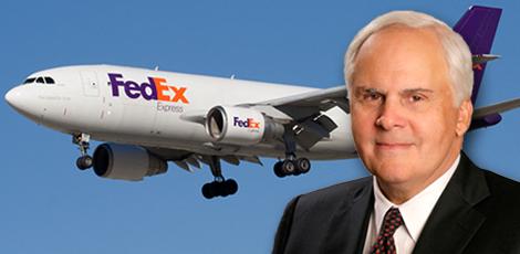 FedEx founder Fred Smith