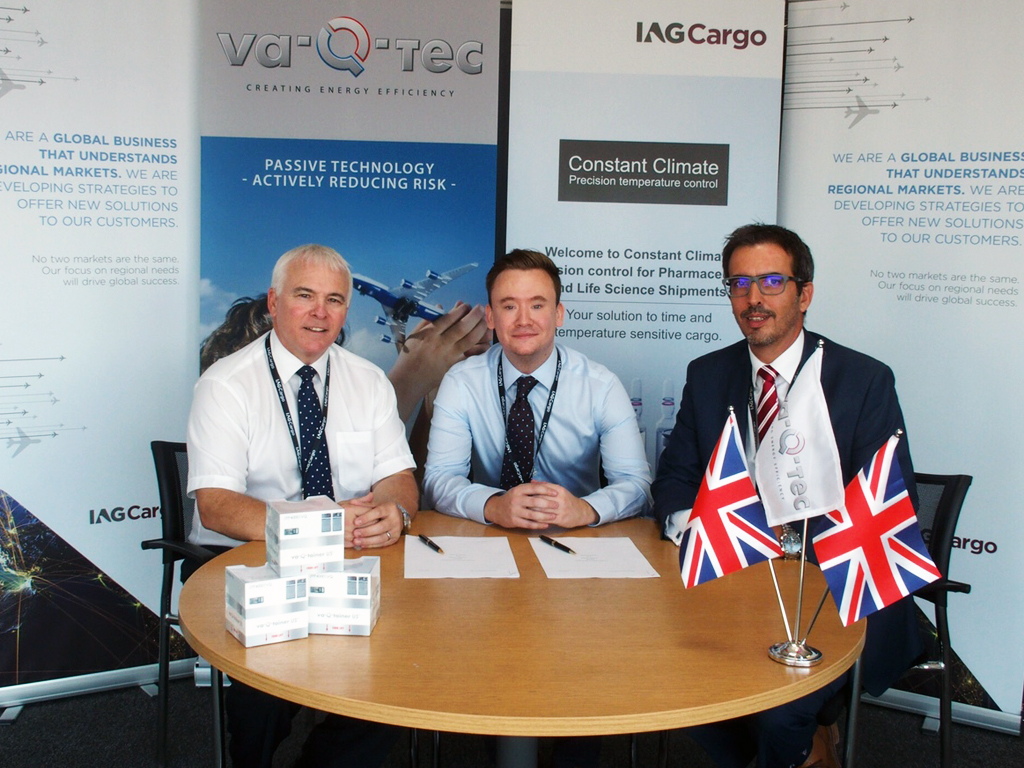iag cargo inks rental deal with va q tec for temperature controlled containers air cargo news. Black Bedroom Furniture Sets. Home Design Ideas