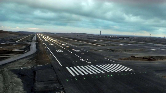 Lights on for first runway at Istanbul New Airport: VIDEO