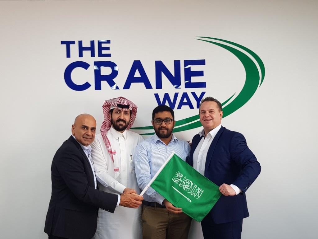 Crane Worldwide opens new Saudi Arabia office