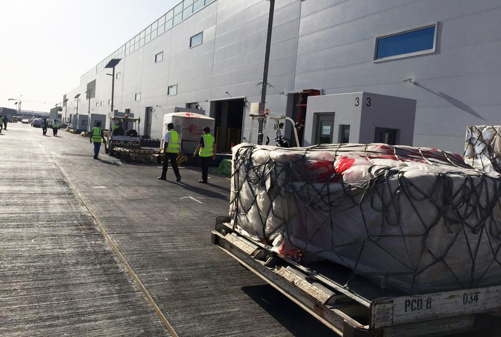 New Muscat cargo terminal opens for business