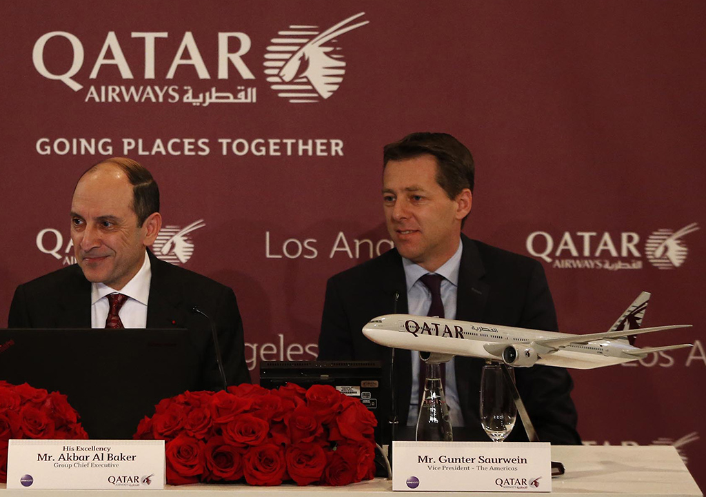 Hollywood bowled over by Qatar's extra LA freighter