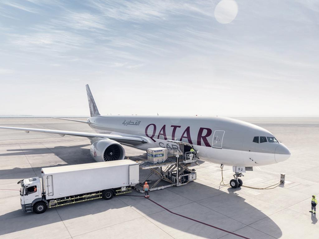 Qatar airways expands pharma network air cargo news stopboris Image collections