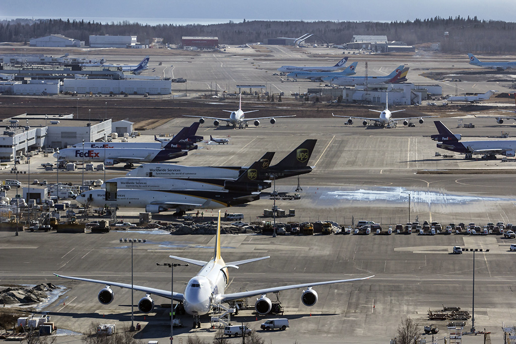 Record quarterly cargo volumes at Anchorage